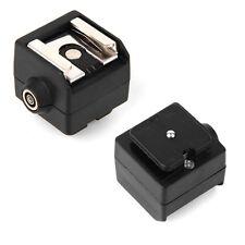 Seagull SC-2 Flashes Hot Shoe Adaptadores PC Sync Socket for Canon Nikon Pentax