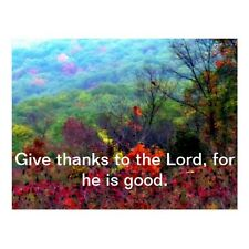 """Give Thanks To The Lord, For He Is Good"" ('Postcard-#300)"