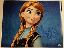 KRISTEN BELL Signed 16x20 Photo Disney's FROZEN Voice of Anna Beckett BAS COA