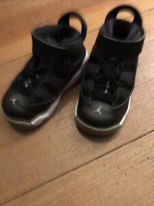 Air Jordan Black Hi Top Sneakers Baby Toddler Boy 5