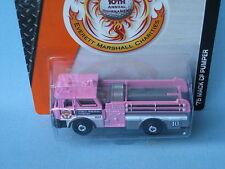 Matchbox 1975 Mack CF Fire Engine Rescue EM Golf Tournament 2015 Pink