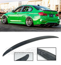 For 12-Up BMW F80 M3 Sedan Carbon Rear Trunk Spoiler Wing Lip Performance Style