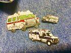 3 Ambulance Paramedic Emergency Truck Life Support Heart EMT EMS Lapel Pin gift