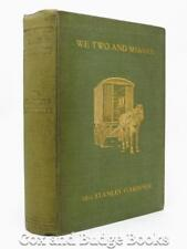 MRS STANLEY GARDINER We Two and Shamus 1913 HB 1st Caravanning West of Ireland