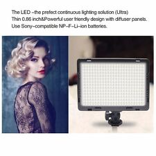 Mcoplus CRI95 1600LM Ultra-thin On-Camera Video LED Light for Camcorder Camera