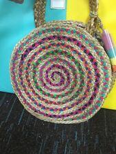 Womens Shiraleah Round Small Mirabel Multicolored Bag