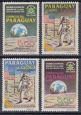 Paraguay 1969 ** Vignetten gez./perf. Weltraum Space Espace