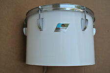"CHICAGO ERA! 1970's LUDWIG 13"" WHITE CORTEX CONCERT TOM for YOUR DRUM SET! #V573"