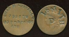 USA Dog Tag & Counterstamped One Cent Lot of 2 Coins