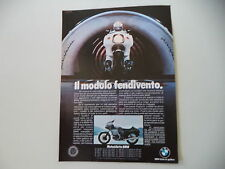 advertising Pubblicità 1977 MOTO BMW R 100 RS