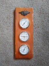 Springfield American Bald Eagle Barometer Thermometer Weather Instrument