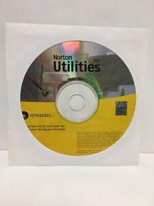 Norton Utilities 7.0 for Macintosh Symantec CD
