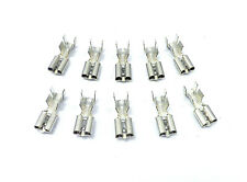 PER-074-10 Terminals For Relay Connector Housing 10 12 Gauge Wire Clip In Spades