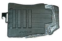 4x Nissan Juke Genuine Car Floor Mats Tailored Rubber Front+Rear KE7581K089