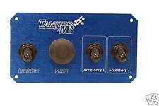Tanner Racing Switch Panel w/Start But., Ign.,& 2 Acc.