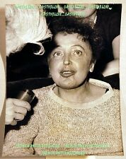 PHOTO ANCIENNE années 1960 EDITH PIAF tirage d'épôque 1/5 tampon d'agence