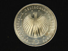2003 Germany 10 Euro - 2006 Fifa Soccer - Uncirculated - Silver