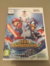 Mario & Sonic Aux Jeux Olympiques D'hiver Wii