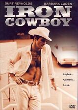 IRON COWBOY ( DVD 2006) RARE 1968 BURT REYNOLDS ROMANTIC COMEDY  BRAND NEW