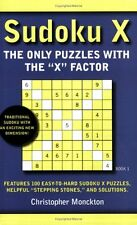 Sudoku X Book 1: The Only Puzzles With the X Facto