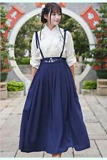 Chinese Ancient Traditional Hanfu Women Fusion Modern Hanbok Strap dress