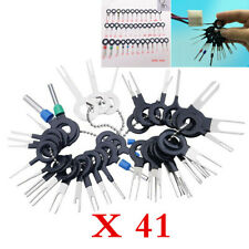 41Pcs Car Electric Wiring Terminal Plug Pick Connector Crimp Pin Removal Tool