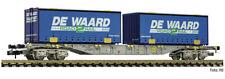 Fleischmann 845373, Containertragwagen De Waard, AAE, Neu und OVP, N