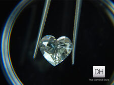 Natural Heart Shape Real Loose Diamond 0.52 CT. H VS1 Ring Pendant Gift Birthday