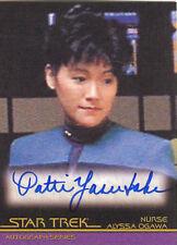 Star Trek Classic Movies Heroes And Villains A111 Patti Yasutake Autograph Card!