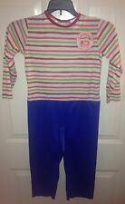 Strawberry Shortcake Halloween Costume Jumpsuit Size L 10-12 Rare HTF 2003