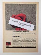 Werbeanzeige/advertisement A5: Tretford Weseler Teppichboden 1966 (170616176)