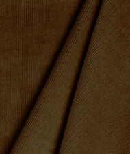 Finewale Corduroy Chocolate  Brown  Cotton Fabric Apparel Solid   Bfab