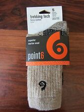 CHAUSSETTE / SOCKS    TREKING TECH HEAVY CUSHION CREW  -- POINT 6   -- TAILLE S