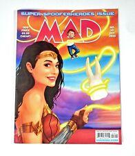 MAD Magazine #15 Oct 2020 Superhero Issue Wonder Woman TMNJ Drucker Tribute! LN!