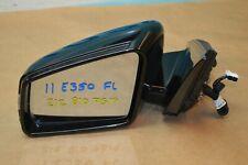 10-13 W212 MERCEDES E350 E550 LEFT DRIVER DOOR SIDE MIRROR BLACK 2128107519