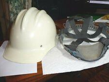 Bullard 502 White Fiberglass Hard Hat With Suspension Iron Worker Mint