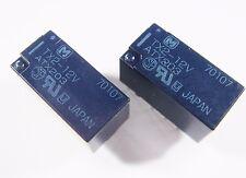 100 x Relais 12V 2xUM 220V 2A Panasonic Japan TX2-12V Gold #12R43#