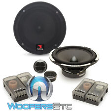 """FOCAL PS-165V1 6.5"""" 80W RMS EXPERT COMPONENT SPEAKERS TWEETERS CROSSOVERS NEW"""