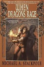 When Dragons Rage - Dragoncrown War Cycle #2 by Michael A. Stackpole SC new