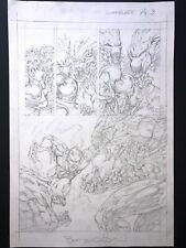 Wrightson - Chamber Of Horrors #1 Pg3 (Warblade) ORIGINAL ART ORIGINALZEICHNUNG