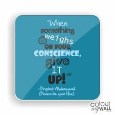 Islamic inspirational quote fridge magnet gift, wedding favours