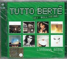 2) cd  LOREDANA  BERTE'  Tutto Bertè  SEI  BELLISSIMA  NUOVO  Siae  SIGILLATO