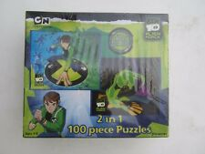 NUOVO in scatola Ben 10 Alien Force 2 in 1 Puzzle 100 PEZZI