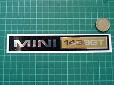 Mini 1499GT Style Rétro Autocollant Decal-chrome/noir/or bmw mini