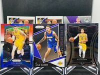 2019-20 Panini Prizm Kyle Kuzma RWB Select Premier Prizm RC Optic Lot Lakers