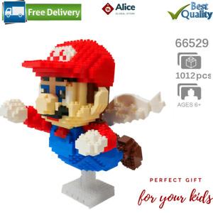 Super Mario Flying Building Blocks Adult Kid DIY Mini Nanoblocks Large Toy ⭐⭐⭐⭐⭐