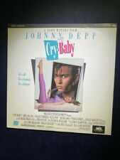 Cry-Baby Laserdisc-John Waters, Johnny Depp