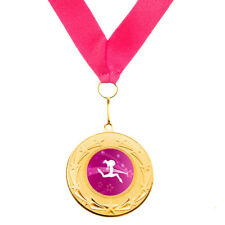 10 x Dance Metal Medals + Ribbons High Quality Free Delivery