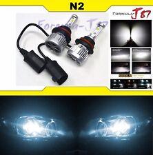 LED Kit N3 60W 9004 HB1 6000K White Two Bulbs Head Light Dual High Low Beam Lamp