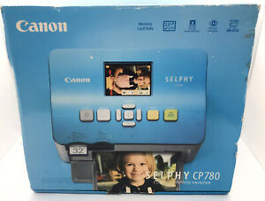 Canon SELPHY (CP780) Compact Snapshot Dye Sublimation Photo Printer LCD Display